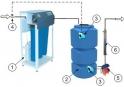 Система очистки воды из скважины (RO)