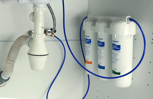 Фильтр для воды под мойку установка своими руками 240