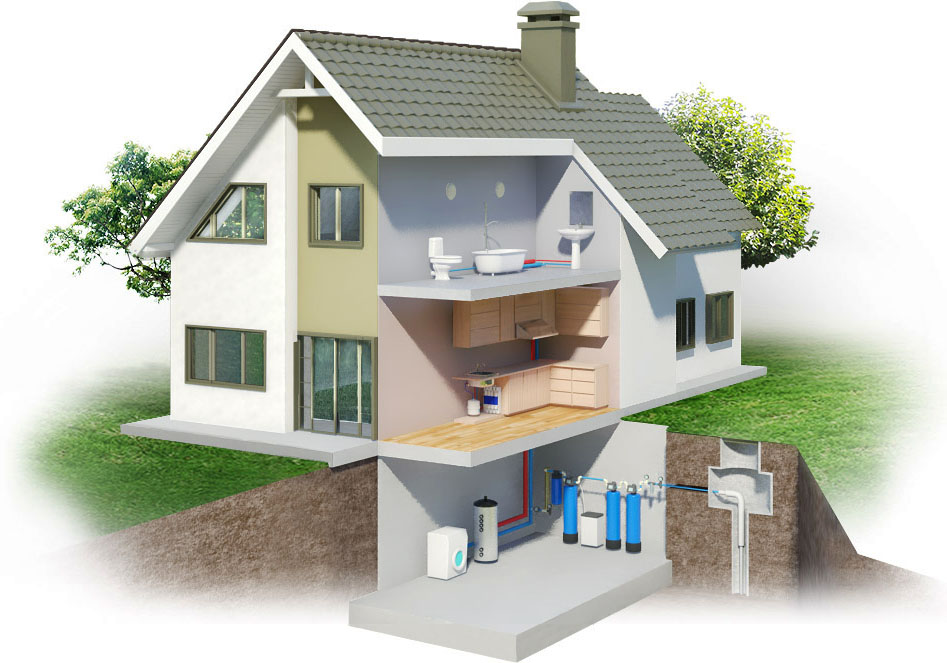 470Фильтры для воды в частный дом